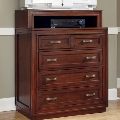 Duet 4 Drawer Media Chest by Home Styles