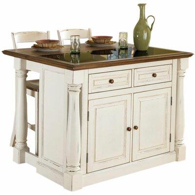 Home Styles Monarch Kitchen Island Set