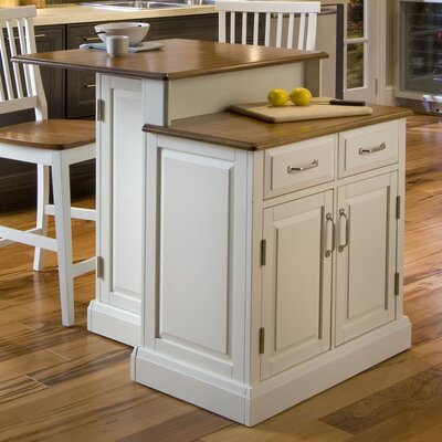 Woodbridge Kitchen Island Set Product Photo