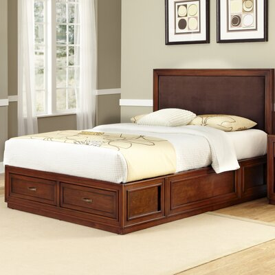 Duet King Platform Panel Bed by Home Styles