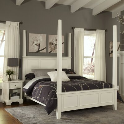 Home Styles Naples Panel 2 Piece Bedroom Set