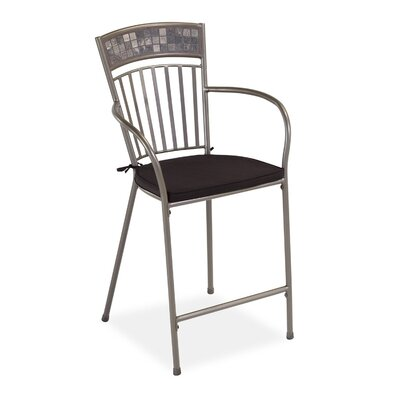 "Home Styles Glen Rock 24"" Bar Stool with Cushion"