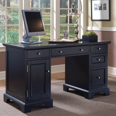 Home Styles Bedford Double Pedestal Computer Desk