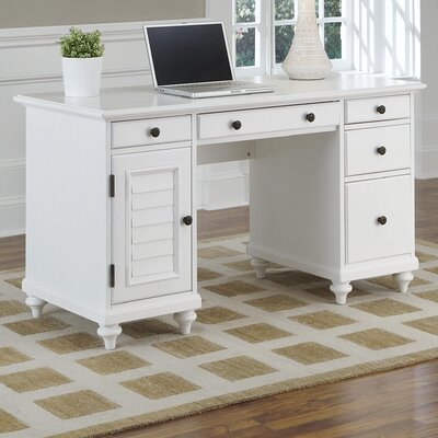 Home Styles Bermuda Computer Desk with Keyboard Tray