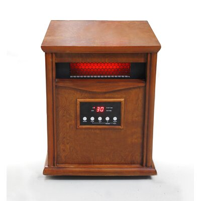 1,500 Watt Portable Electric Infrared Cabinet Heater by Dynamic Infrared