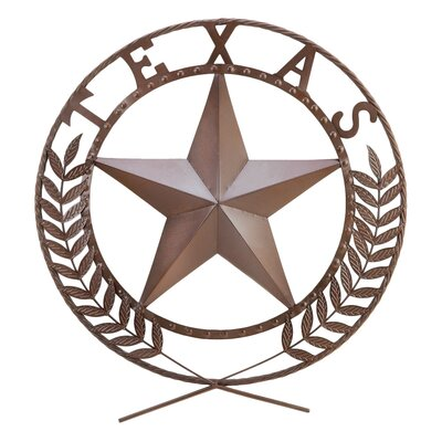 Zingz & Thingz Lone Star State Garden Plaque