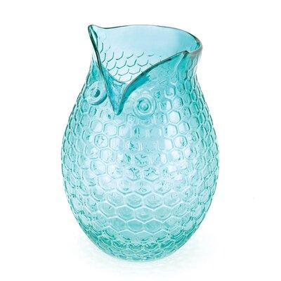 Aqua Pop Owl Vase by Zingz & Thingz