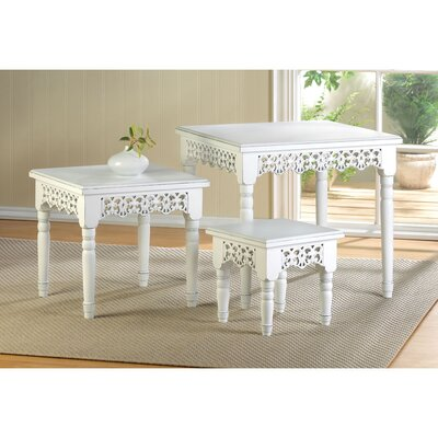 Flourish 3 Piece Nesting Tables by Zingz & Thingz
