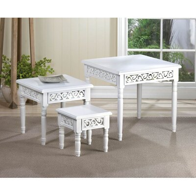 Floret 3 Piece Nesting Tables by Zingz & Thingz