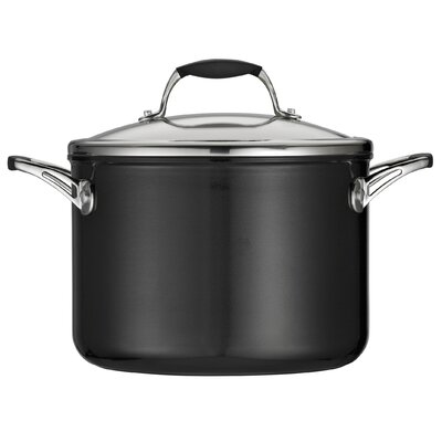 Ceramica 01 Deluxe 6-qt. Stock Pot with Lid by Tramontina