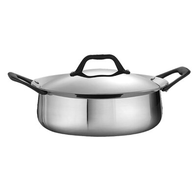 Limited Edition 3.5 Qt. Stainless Steel Round Casserole by Tramontina