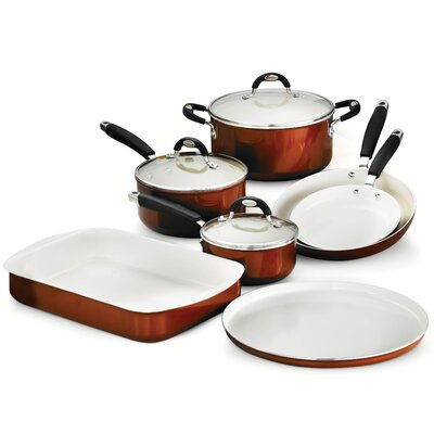 10 Piece Cookware Set by Tramontina