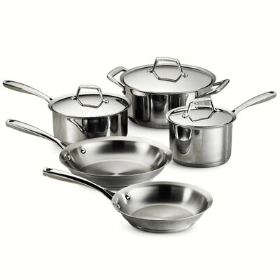Gourmet Prima 8 Piece Stainless Steel Cookware Set by Tramontina