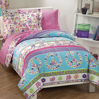 Peace & Love Bed Set by Dream Factory