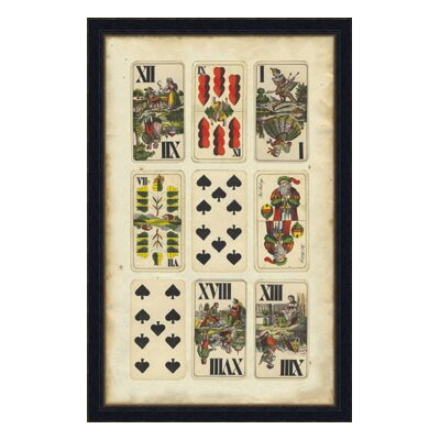 European Card Collection II Framed Graphic Art by Melissa Van Hise