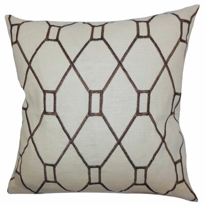 Nevaeh Geometric Throw Pillow by The Pillow Collection