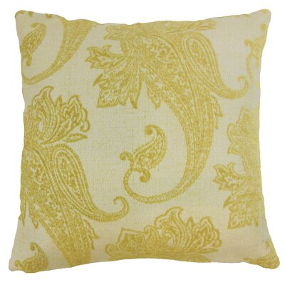 Galia Throw Pillow by The Pillow Collection