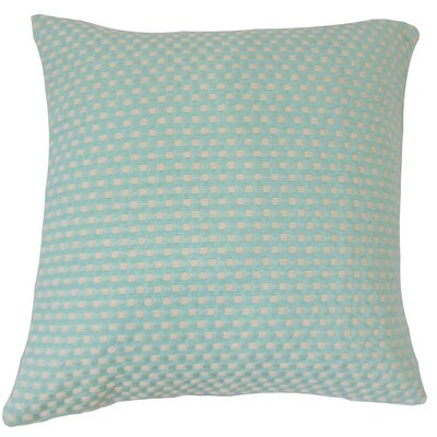 Jevonte Woven Cotton Throw Pillow by The Pillow Collection