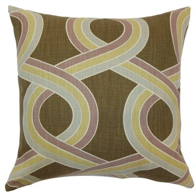 The Pillow Collection Malva Knots Throw Pillow