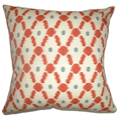 Farlow Link Cotton Throw Pillow by The Pillow Collection