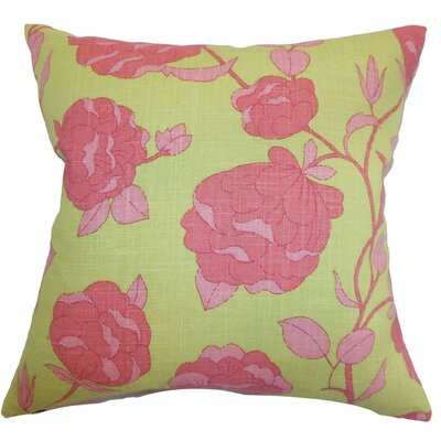 The Pillow Collection Lalomalava Floral Throw Pillow