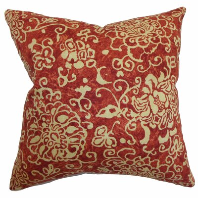 Jaffna Floral Throw Pillow by The Pillow Collection