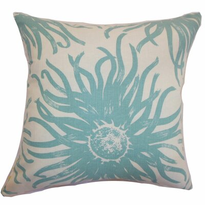Ndele Floral Throw Pillow by The Pillow Collection