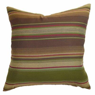 The Pillow Collection Neville Stripes Throw Pillow