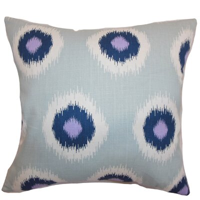 Paegna Ikat Throw Pillow by The Pillow Collection