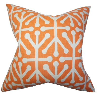 The Pillow Collection Heath Cotton Throw Pillow