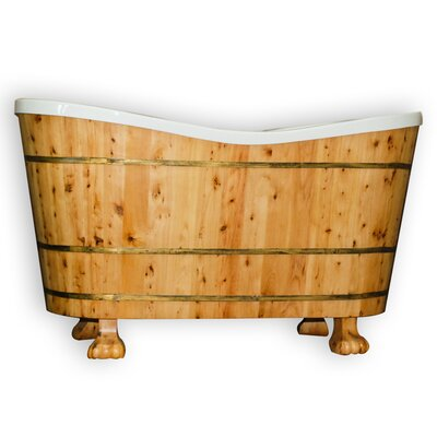 "60"" L x 29"" W Soaking Bathtub Product Photo"