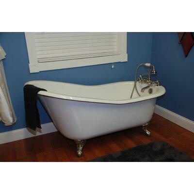 "67.25"" x 22.25"" Baron Slipper  Bathtub Product Photo"