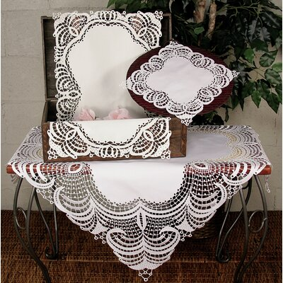 Xia Home Fashions Dainty Lace Dining Linens
