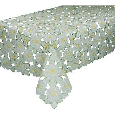 Dainty Flowers Tablecloth by Xia Home Fashions