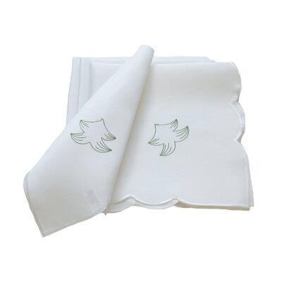 Tannenbaum Embroidered Cutwork Holiday Napkin by Xia Home Fashions