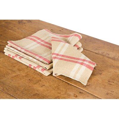 Check Linen Napkin by Xia Home Fashions