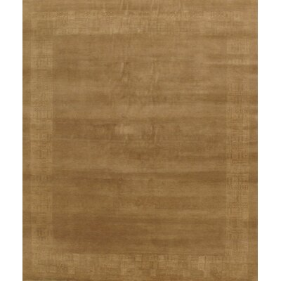 Gabbeh Brown Traditional Persian Area Rug by Pasargad