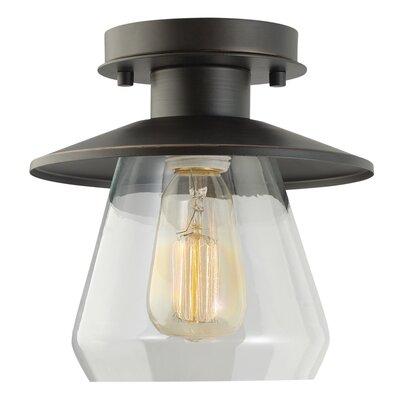 Vintage 1 Light Semi Flush Mount Product Photo