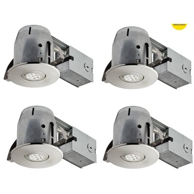 LED Integrated IC Rated Swivel Spotlight 4