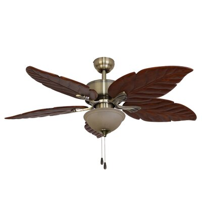 """52"""" St. Marks Bowl Light 5 Blade Ceiling Fan Product Photo"""