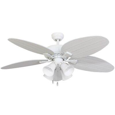 "52"" Surf Island 4 Light 5 Blade Ceiling Fan Product Photo"