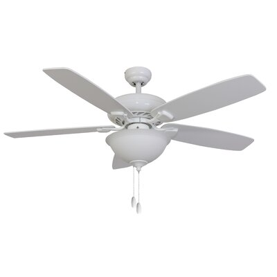 "52"" Rialto Bowl Light 5 Blade Ceiling Fan Product Photo"