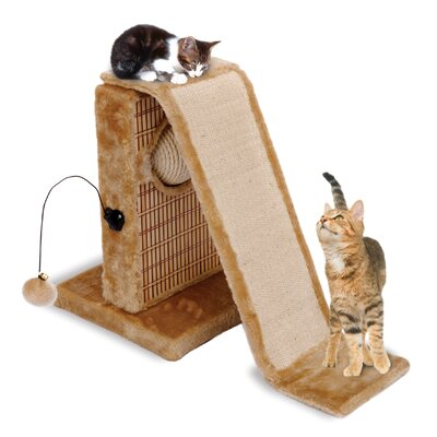 13 inch Activity Center Scratching Board For Multiple Cats