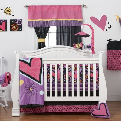 Sassy Shaylee Crib 8 Piece Bedding Set by One Grace Place