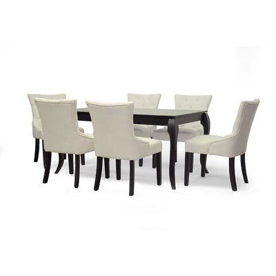Epperton 7 Piece Dining Set by Wholesale Interiors