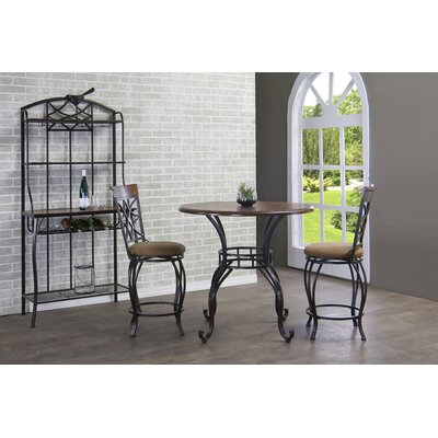 Ibiza 4 Piece Counter Height Pub Table Set by Wholesale Interiors