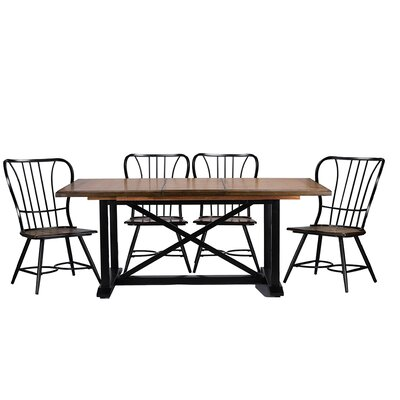 Longford 7 Piece Dining Set by Wholesale Interiors
