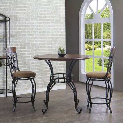 Ibiza 3 Piece Counter Height Pub Table Set by Wholesale Interiors