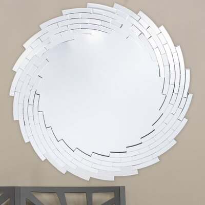 Baxton Studio Bonham Round Wall Mirror by Wholesale Interiors