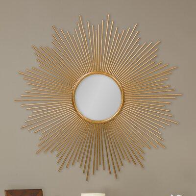 Baxton Studio Lambert Round Wall Mirror by Wholesale Interiors
